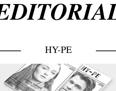 """EDITORIAL - Revista """"Hy-Pe"""""""