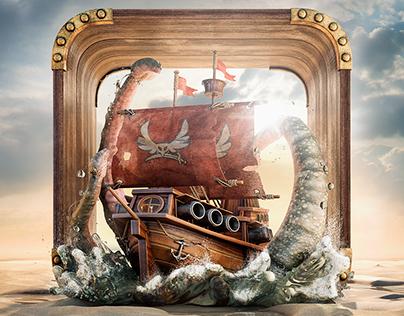 3D Kraken App's Icon