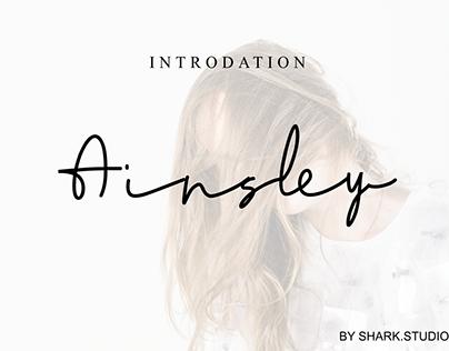 Ainsley-signature