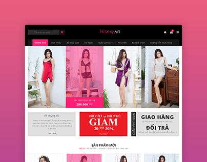 Webdesign | Hisexy.vn
