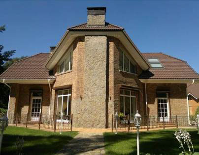 Private house turn key architecture and interior design
