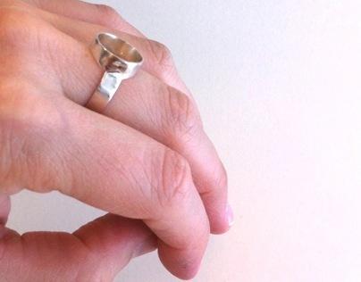 """Ring """" The Circle"""""""