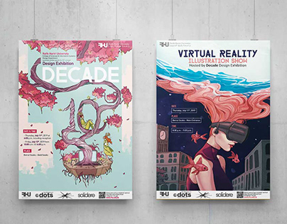 DECADE - RHU annual GD Exhibition + VR Live Show