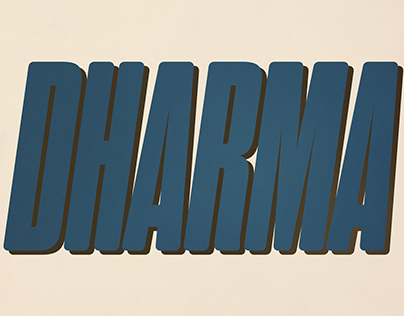 Dharma Gothic Rounded
