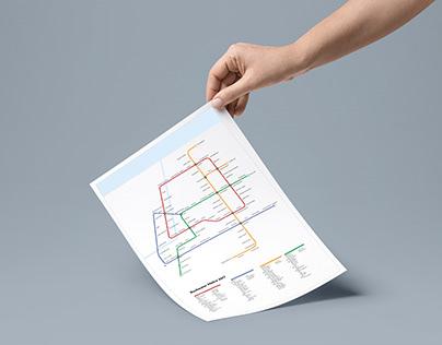 Rochester Transit Diagram/Information Design