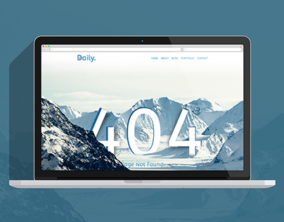 Daily UI - 2 | 404 Page Not Found