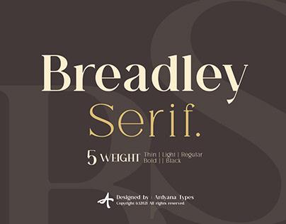 Breadley Serif - Modern Serif