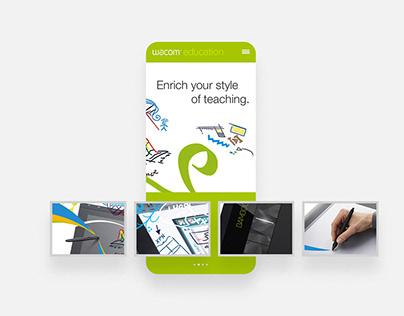 Wacom Education - Website Relaunch