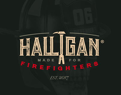 Halligan Firefighters Clothes - Logo