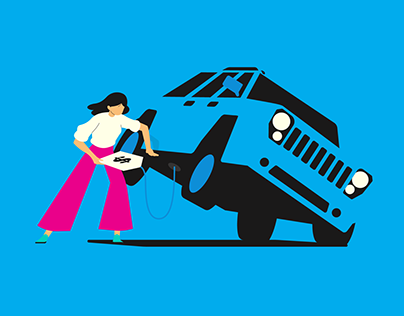 TrueCar Illustration Campaign