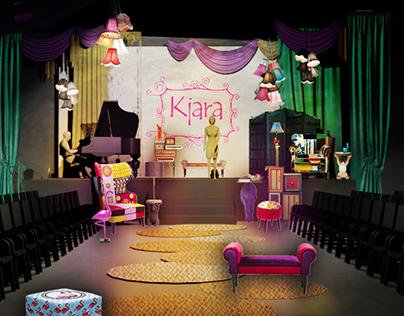 "Benefit fashion show ""Kjara's dream"""