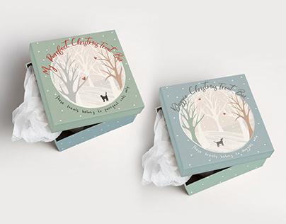 PDSA / Dog + Cat Christmas Treat Boxes