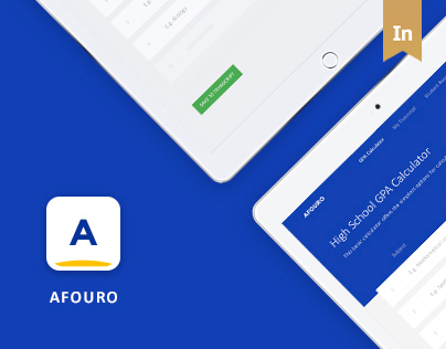 Afouro in Material Design