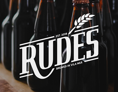 Cerveja Rudes Branding & Packaging