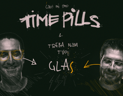 Time Pills Web Ad