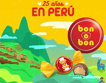Campaña 25 años En Perú Bon o Bon