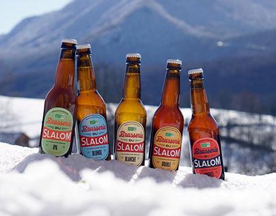 Brasserie du Slalom - Brand identity