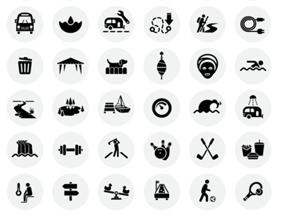 Vector Illustrations and Icons