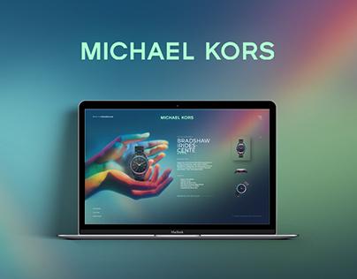 Michael Kors - Website - Redesign concept