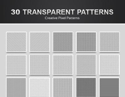 30 Pixel Patterns