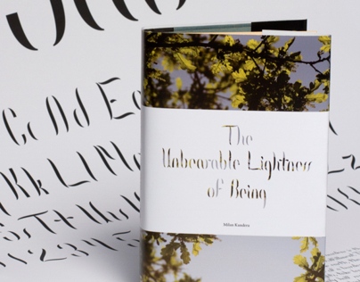 The Unbearable Lightness of Being Cover Design