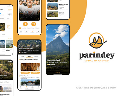 Parindey – Solo Travel App