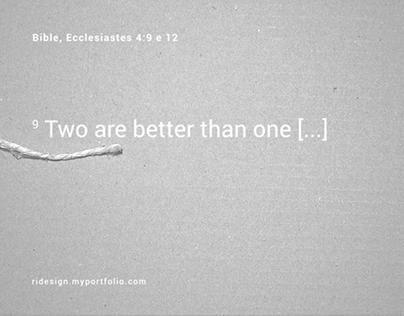 Ecclesiastes: Bible Verse Animation