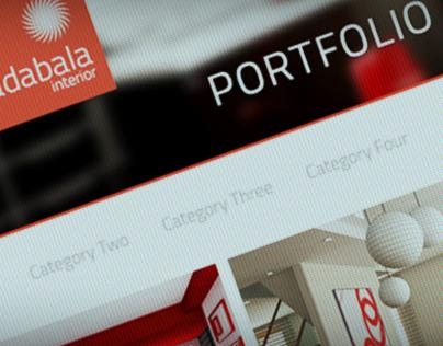 Radabala Responsive Web PSD Template