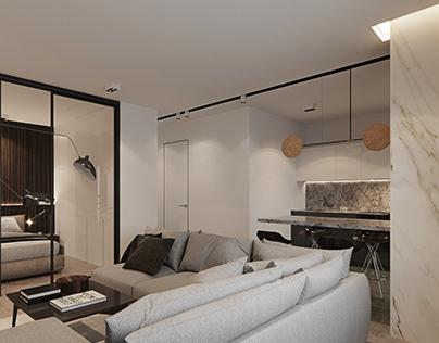 Visualization apartment