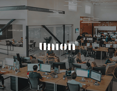 Union creative & marketing agency - Redesign concept