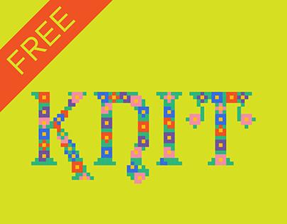 Knit Typeface