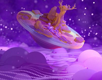 Crazy Purple Floatas