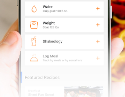 Beachbody Nutrition App