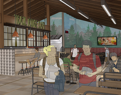 Rocky Mountain National Park - Trail Ridge Cafe