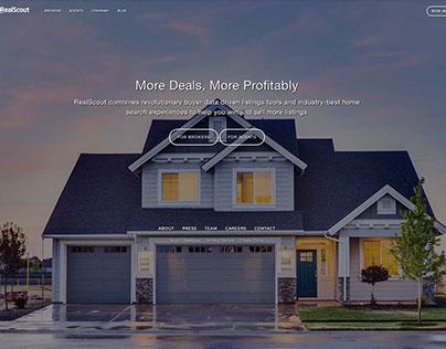 RealScout Website Design
