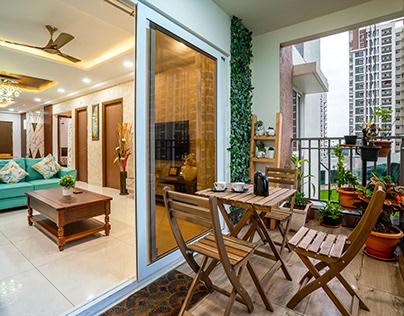 Tasko Aparna Serene Park 3 BHK Apartment