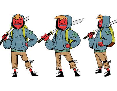 Underground Samurai /// Character Design