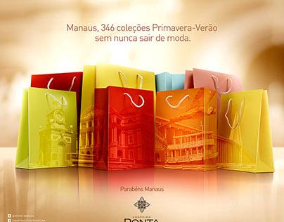 Shopping Ponta Negra - Aniversário de Manaus