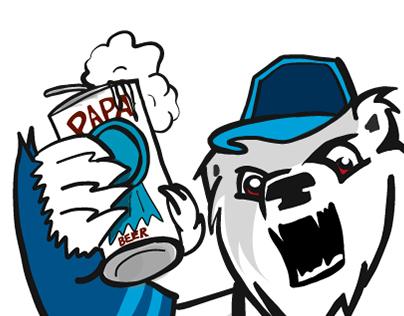 Los Osos Blancos team logo