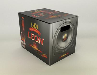 Cerveza León - Packaging para Sonidos Urbanos
