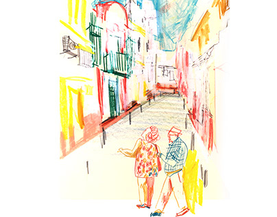 Sketchbook from Sevilla 2