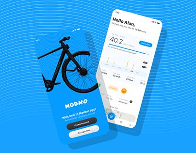 Modmo - EBike - UI/UX