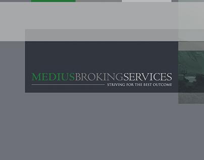 Medius Broking Services Brand Identity