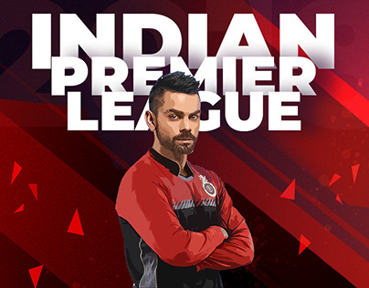 Illustration | Indian Premier League | Digital | Design