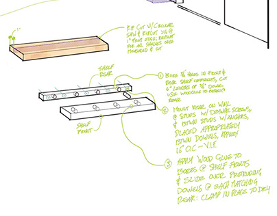 Digital Sketching in an Arch-Viz Workflow