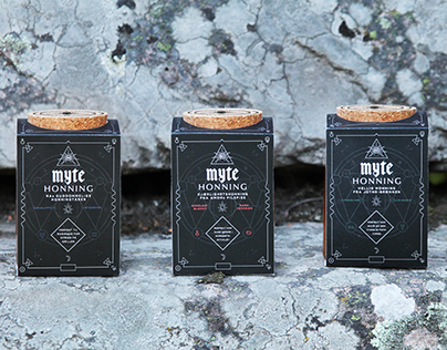 Mythical Honey - Packaging