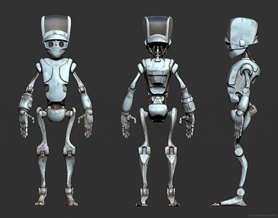 Alpha Ma - Robot concepts for a web series