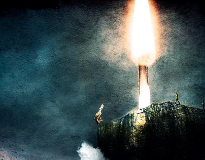 Burning a Wish
