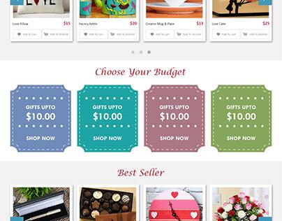 Gift Shop Website Template
