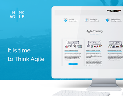 Website for ThinkAgile